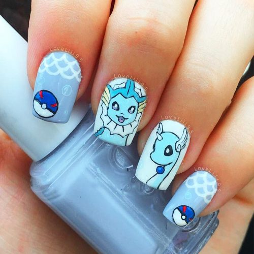 Nails for Pokemon Cartoon Lovers Picture 1