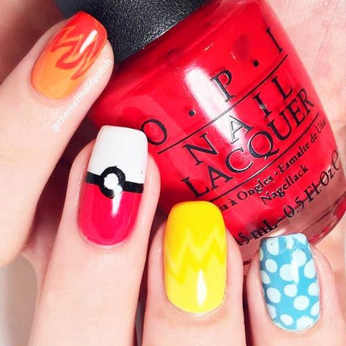 Nails for Pokemon Cartoon Lovers Picture 2