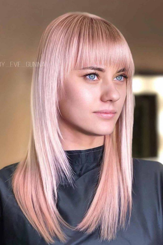 How to Choose the Perfect Rose Gold Hair Color #hair #hairstyle