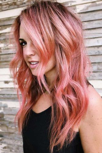 Light Rose Gold Brunette #rosegoldhair #brunette