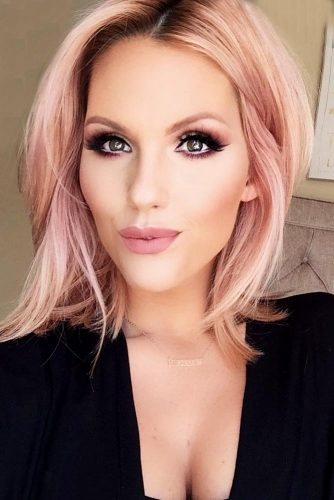 Beautiful Pastel Rose Gold Hair Ideas Picture 1