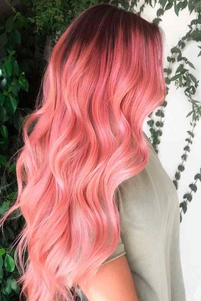 Pink Blonde Hair Shade #pinkhairshade #pinkblonde