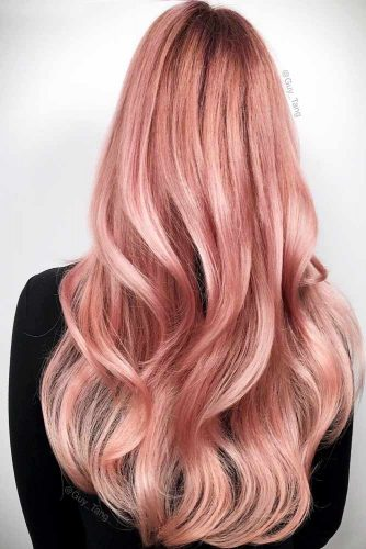 Beautiful Pastel Rose Gold Hair Ideas Picture 2