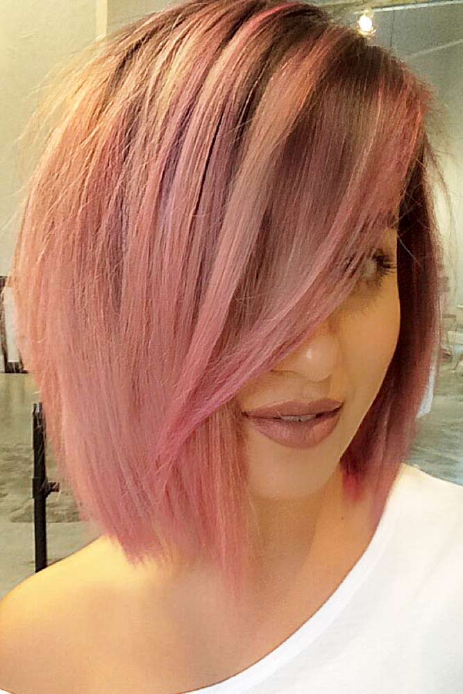 Beautiful Pastel Rose Gold Hair Ideas Picture 4