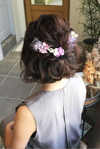Short Hairstyles Ideas for Romantic Evening Picture 1