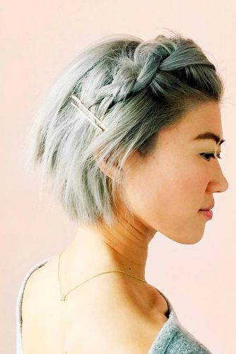 Easy and Fast Hairstyles for Short Hair Picture 4