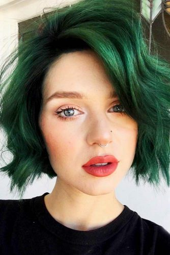 Easy and Fast Hairstyles for Short Hair Picture 2