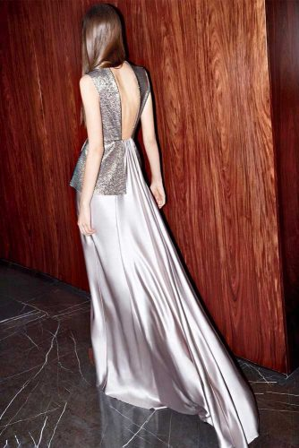 Long Silver Dresses picture 2