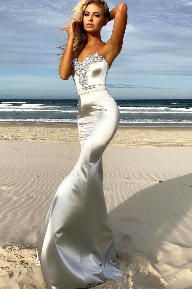 Top Silver Cocktail Dresses picture 6