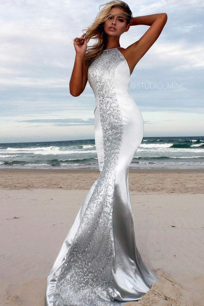 Top Silver Cocktail Dresses picture 4