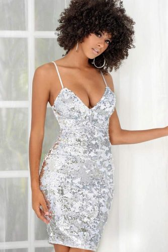Short Silver Dresses Designs picture 4