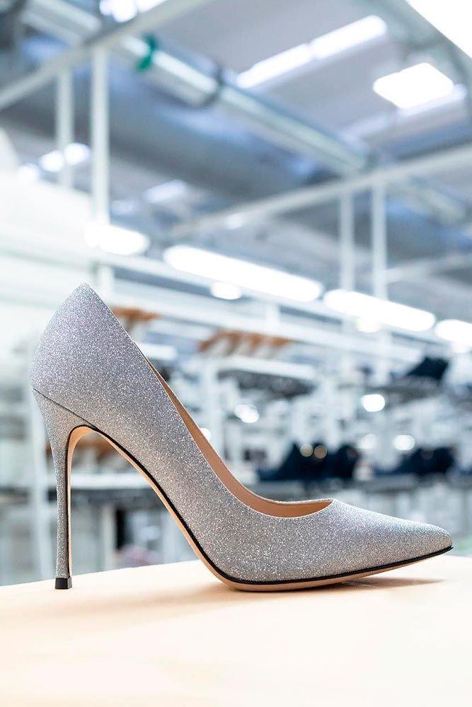 Sparkly Stiletto Heels #stilettoheels #promshoes
