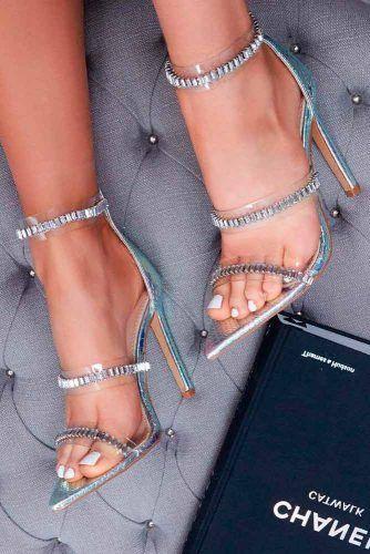 Ankle Strap Heels #anklestrapheels #promshoes