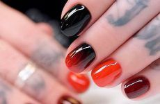 Terrific Designs Done With Gel Nail Polish To Try This Season