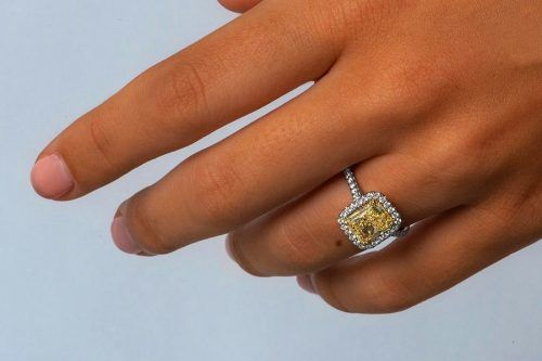 Yellow Diamond Engagement Rings For The Unforgettable Moment