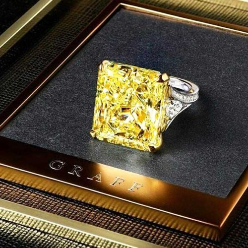 Stunning Yellow Diamond Engagement Rings picture 3