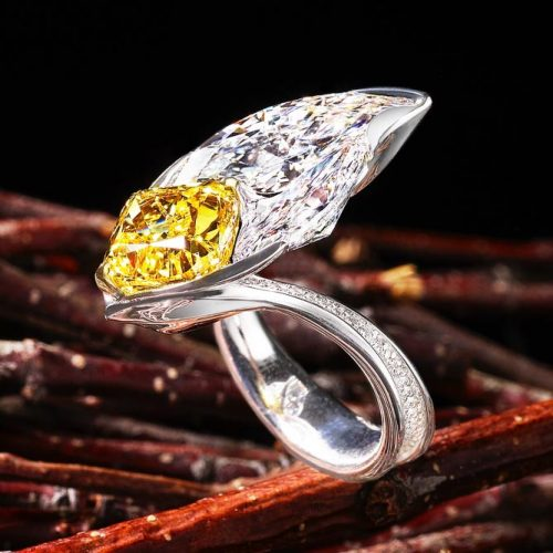 Stunning Yellow Diamond Engagement Rings picture 6