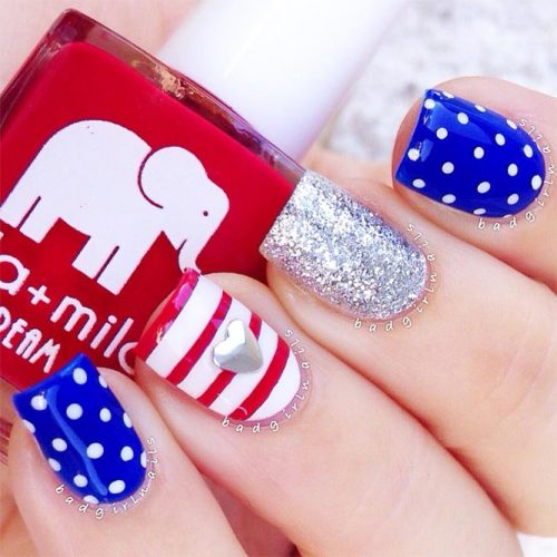 Polka Dots Nail Designs for a Cute Look Picture 1
