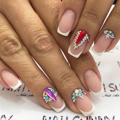French Acrylic Nail Design #frenchnaildesign