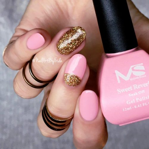Sparkling Glitter Nail Designs for Acrylic Nails Picture 3