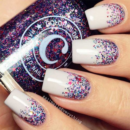 Sparkling Glitter Nail Designs for Acrylic Nails Picture 2