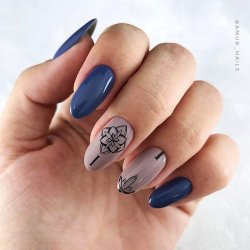 Trendy Designs With Combined Nail Colors Picture 6
