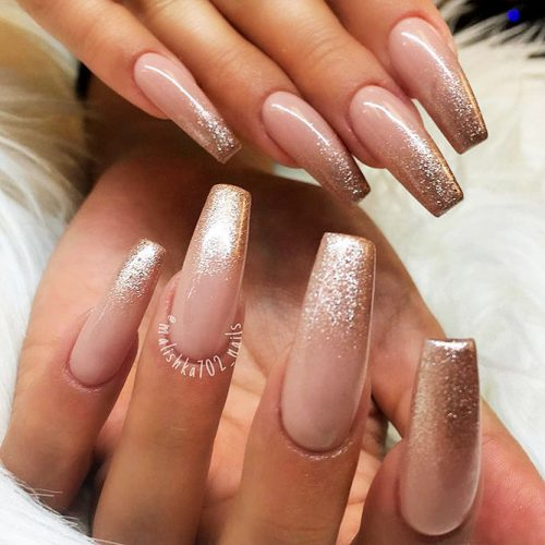 Fast and Easy Ballerina Nails Ideas Picture 1