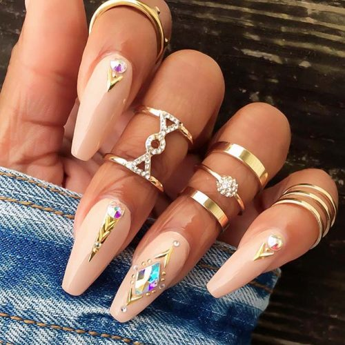Fast and Easy Ballerina Nails Ideas Picture 3
