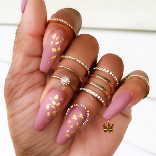 Fast and Easy Ballerina Nails Ideas Picture 6