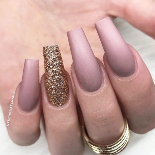 Matte Ballerina Nails for a Classy Look picture 2