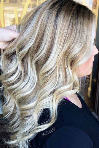 Blonde Shades Hair with Blonde Highlights Picture 4