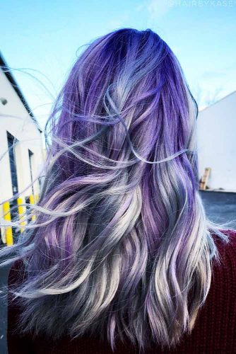 Blonde Highlights Ideas on Colored Hair Picture 3