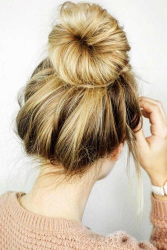 Chignon Hairstyles For Every Day Picture 2