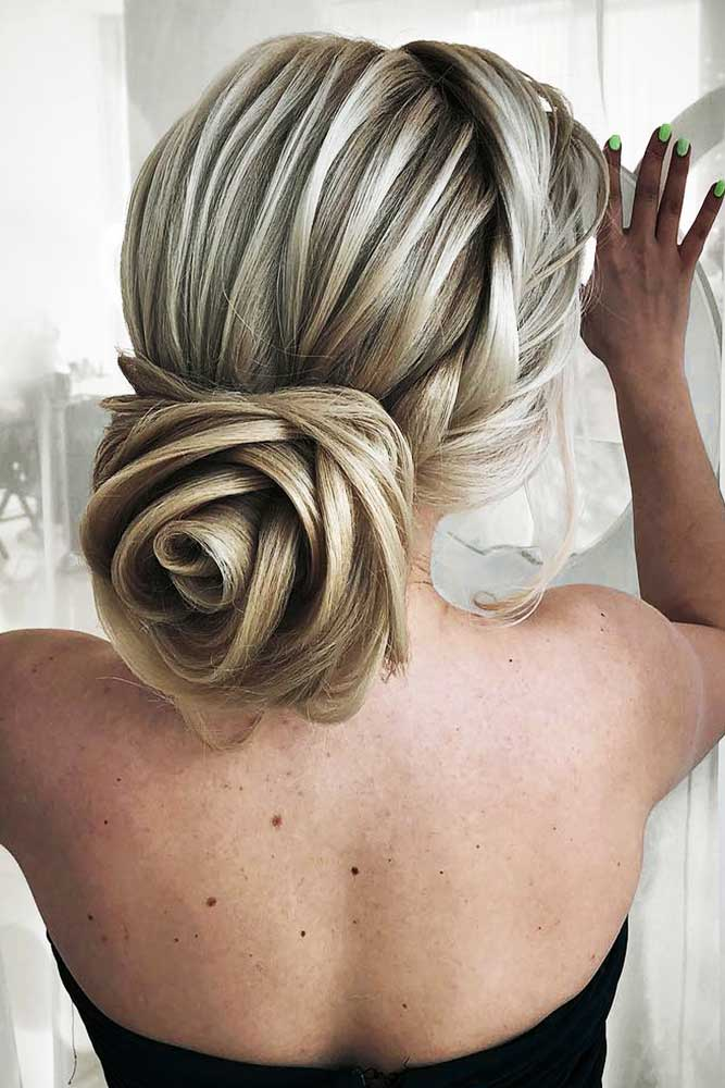Beautiful Chignon Hairstyles With Braids Picture 4