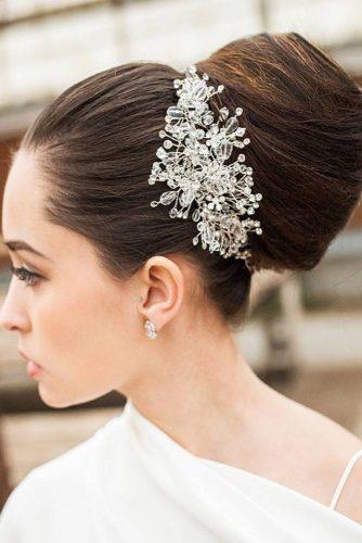 Amazing Sleek Chignon Hairstyle #chignonhairstyle