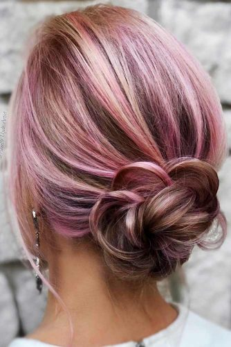 Chignon Hairstyles For Every Day Picture 1