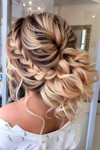 Voluminous Braided Chignon #braids #volumnioushairstyles