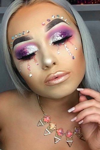 Glitter Makeup Looks picture 1