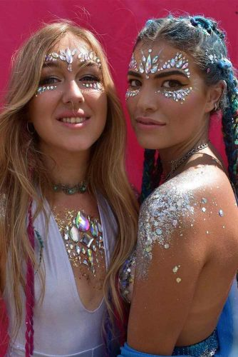 Sparkly Jewelery Festival Makeup Looks picture 3
