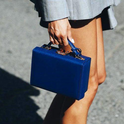 Parisian-Chic Blue Case #case #bag