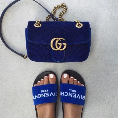 Gucci Blue Cobalt Bag Design #guccibag