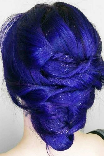 Blue Cobalt Shades In Hair Color picture 2