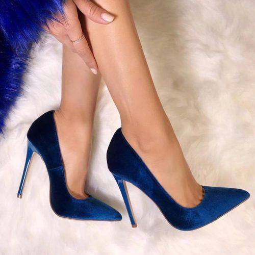 Cobalt Blue Pumps #highheels #pumps