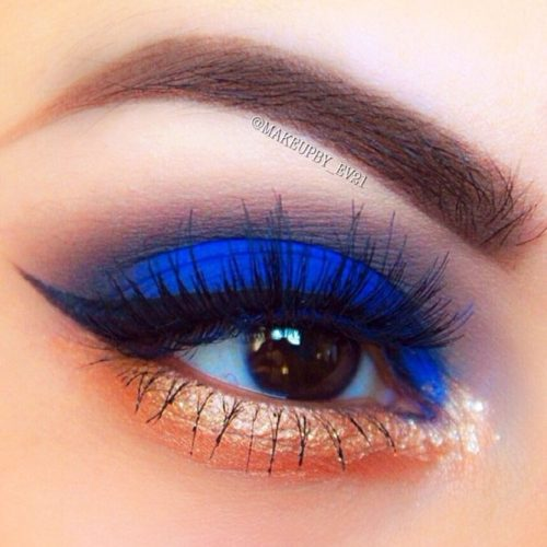 Makeup Ideas With The Blue Cobalt Color picture 2
