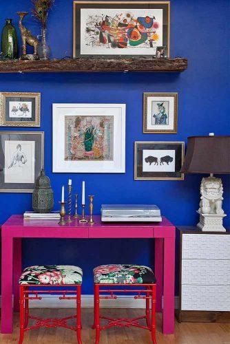 Blue Cobalt Color In Home Design picture 1