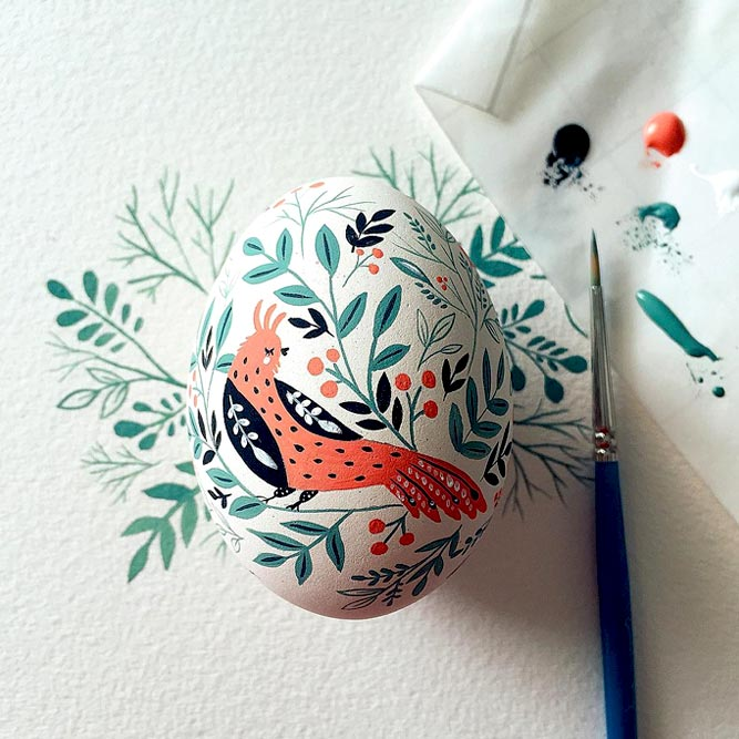 Folk Style For Easter Eggs picture 1