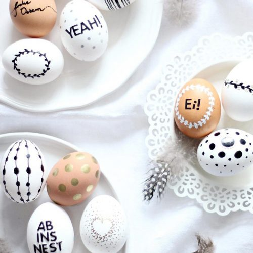 Hipster Black And White Eggs picture 3