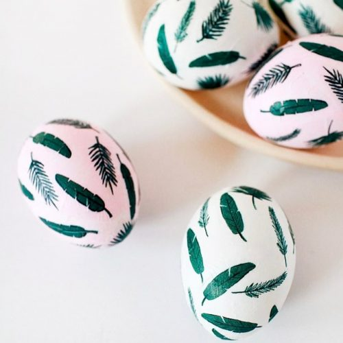 Easter Eggs With Simple Patterns picture 2