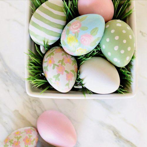 Pastel Floral Eggs picture 1