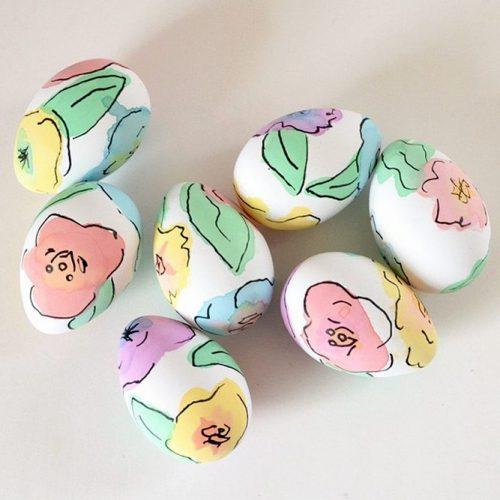Pastel Floral Eggs picture 2